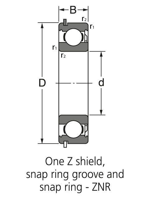 подшипник HK 2538 ZWD