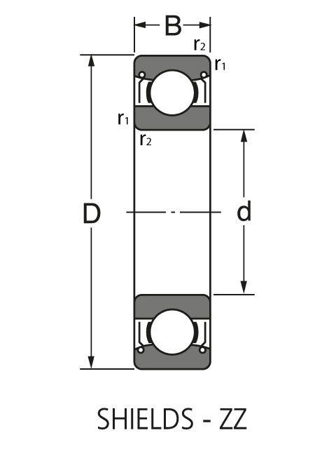 Подшипник NU 415 M1C3