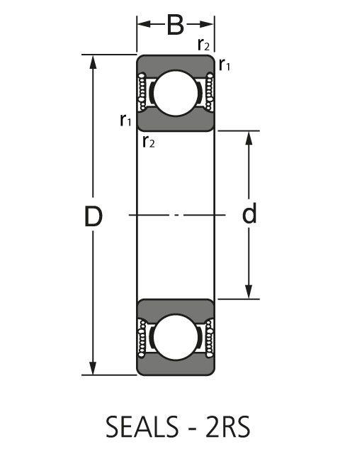 Подшипник NUP 203 EM1C3