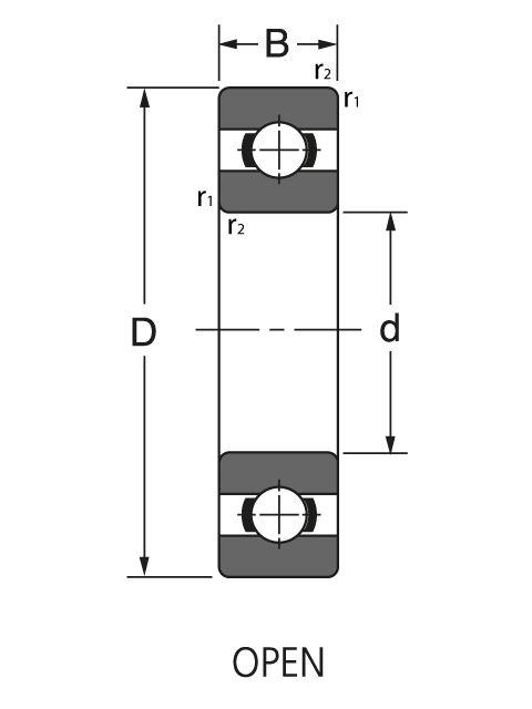 Подшипник NUP 322 EM1C3