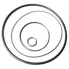 Чертеж-схема Кольцо 340-350-58 ГОСТ 9833-73