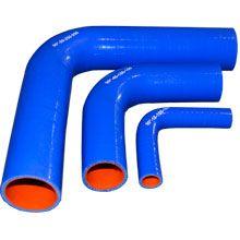 Чертеж-схема Патрубок силиконовый угловой 90° ф 63мм 150х150