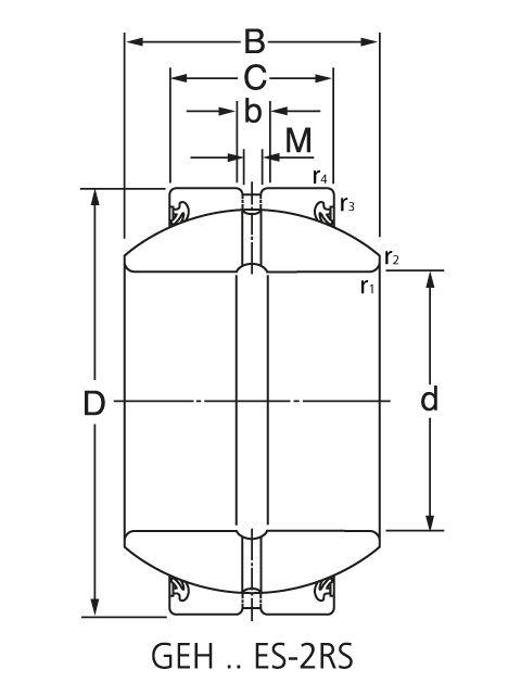 подшипник GE45 ES-2RS