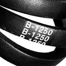Чертеж-схема Ремень клиновой В-887 14х10-887 RUBENA