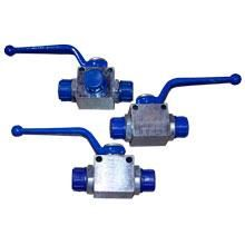 Чертеж-схема Кран гидравлический для РВД двухходовой S24-S24 М20х1.5 - М20х1.5