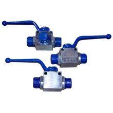 Чертеж-схема Кран гидравлический для РВД трехходовой S27-S27-S27 М22х1.5 -М22х1.5 -М22х1.5