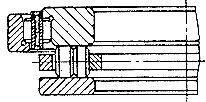 Чертеж-схема подшипника 219805 Л