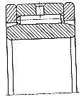 Чертеж-схема подшипника 3074952