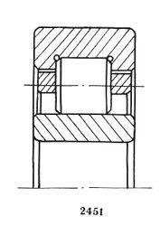 Чертеж-схема подшипника 32220 КМ