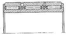 Чертеж-схема подшипника 374830