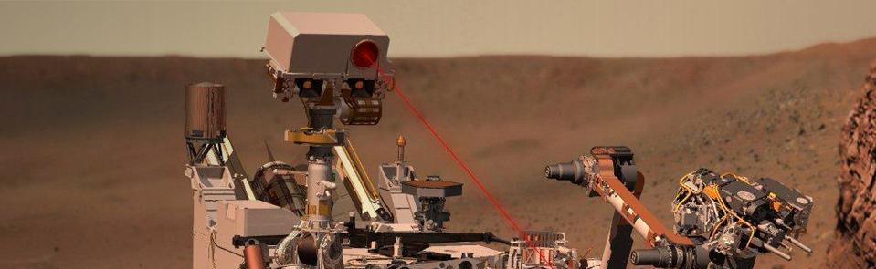 Curiosity GGB DU исследовательская миссия на Марсе