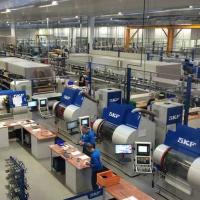 Новая линия по производству подшипников SKF в Тверской области